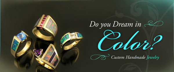 Australian opal jewelry designs by The Hileman Collection