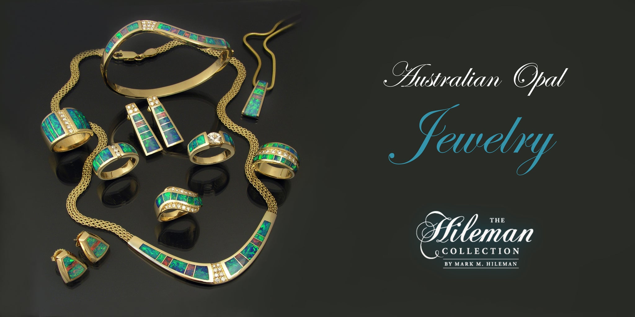 Australian opal jewelry by The Hileman Collection