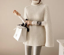 Oversize Sweater Cape