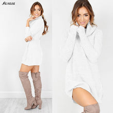 Sweater Women Winter Pullover Dress