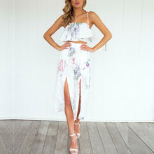Two Piece Set  Off Shoulder Cami & Pants