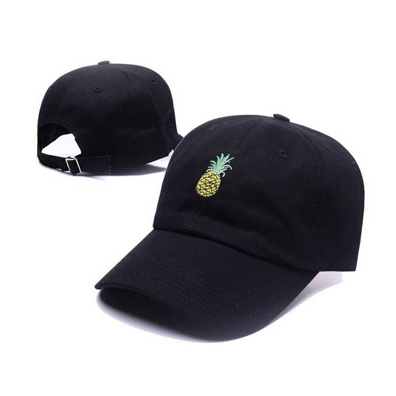 Pineapple Embroidery Snapback