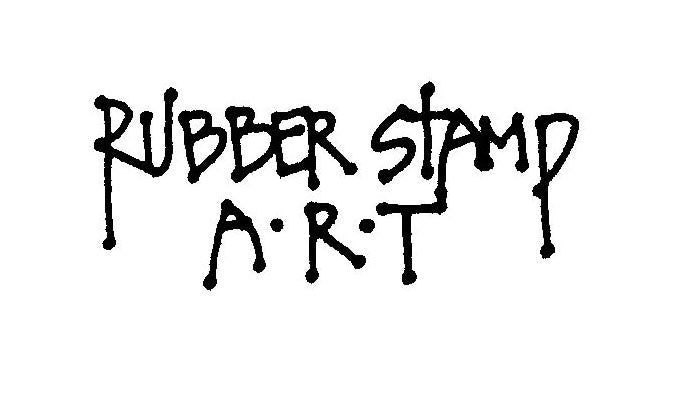 P821 Rubber Stamp Art