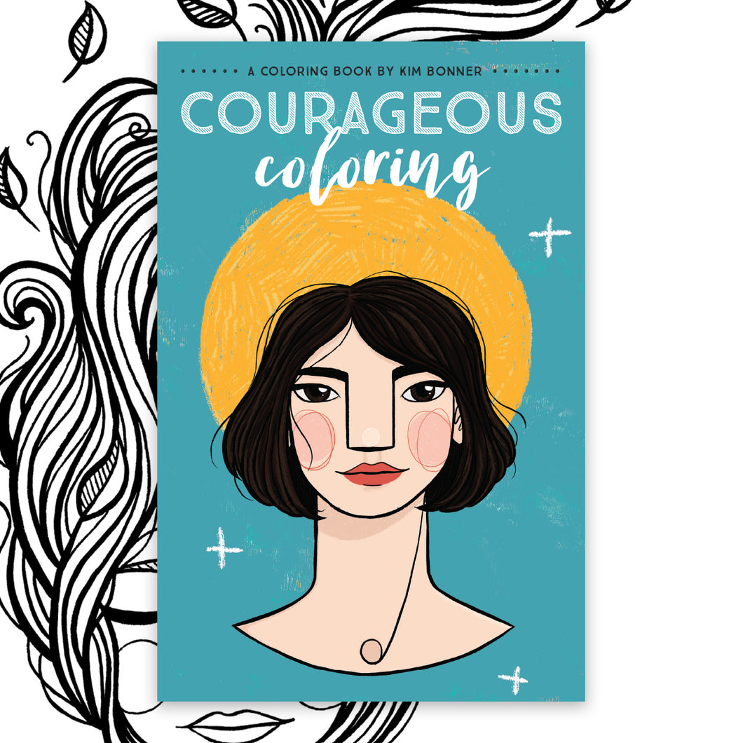 Courageous Coloring Book Volume 2 BULK PACKS
