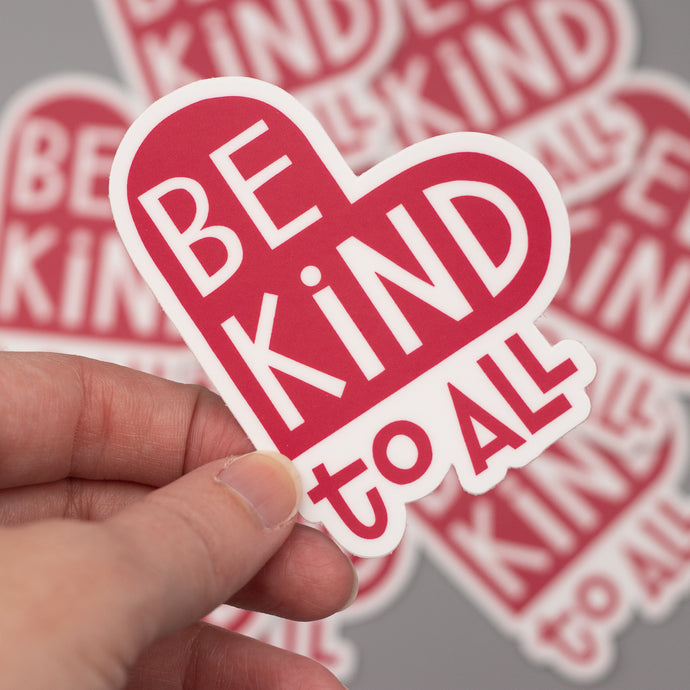 Be Kind Die-cut Stickers
