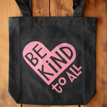 Be Kind To All canvas tote