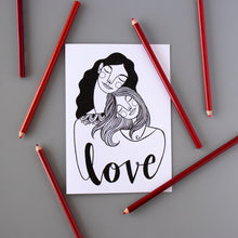 Love Greeting Card 4-pack