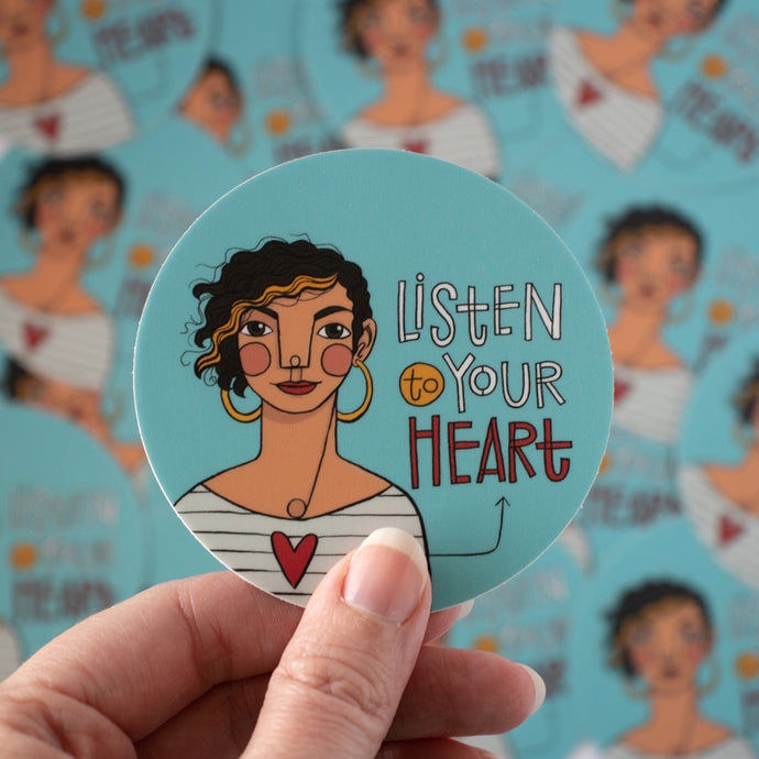 Listen to Your Heart sticker pack