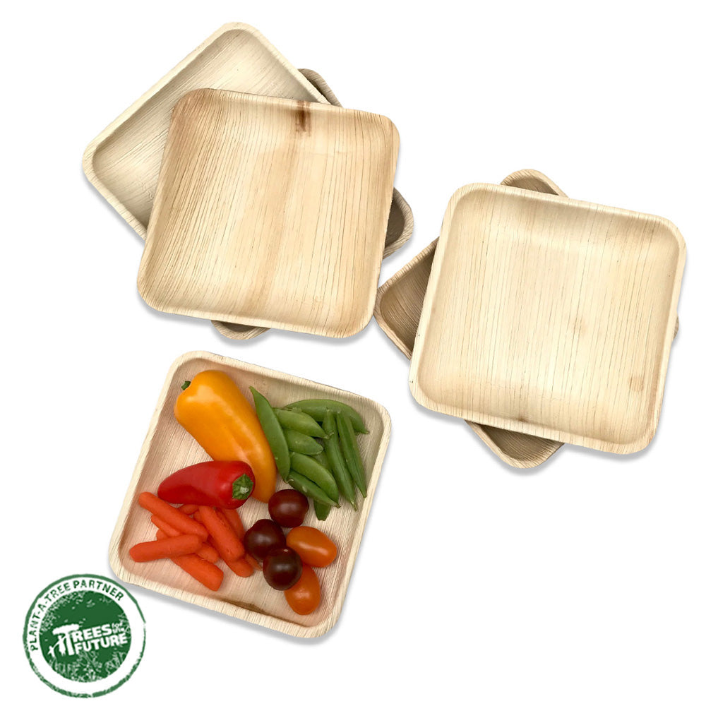 Palm Leaf Plates - 6in
