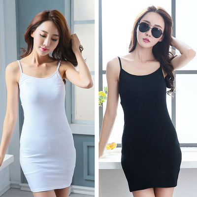 Women Sexy Backless Basic Dresses Sleeveless Slim Mini Dress Summer New Vest Bodycon Dress Strap Solid Party Dress Vestidos