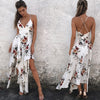 Women elegant Halter long dress strapless loose irregular long women dress backless dress women