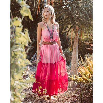 Womens Party Evening Boho Ladies Holiday Sleeveless Cocktail Long Maxi Dress