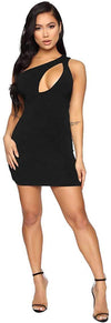 Womens Off The Shoulder Sexy Bodycon Party Club Night Mini Dress