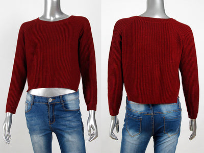 AVODOVAMA M Women Sweaters Autumn Winter Fashion Casual Solid Pullovers Long Sleeve Slim Knitted Female Sweater