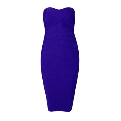 INDRESSME Elegant Women Bandage Party Dress Sexy Strapless Slash Neck Backless Solid Mini Autumn Women Dress Vestidos New