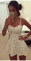Sexy Women Summer Beach Sleeveless Bodycon Casual Party Short Mini Dress