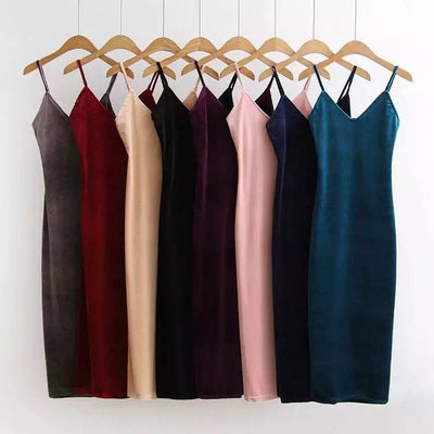 Sexy tight velvet Backless dress Bodycon women autumn winter dress Elegant red evening party dresses club female vestidos
