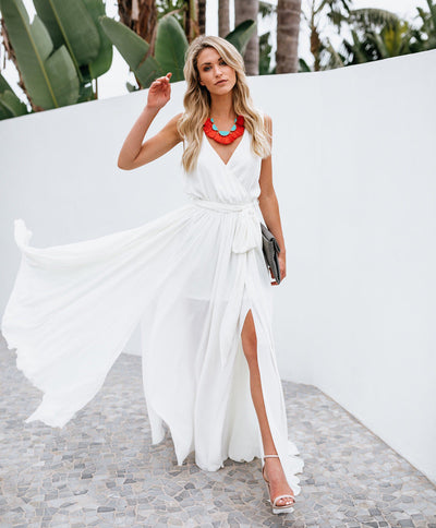 Summer dress Boho Maxi Dress fashion sleevelss women v-neck Evening Party Beach Dresses Sundress long sashes Sundresses