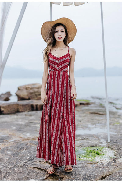 Tingfly Sexy Backless Dress Women Side Split Summer Beach Long Bandage Maxi Dress Elegant Wrap Robe Party Dresses Vestidos