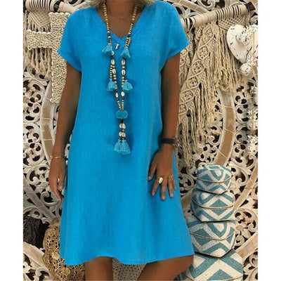 Women Beach dresses Fluorescence Female summer Dress Chiffon Voile Candy Color Women dress Casual dress women plus size 5XL