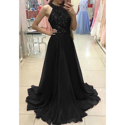 hirigin Women Ladies Formal Sexy Sleeveless Christmas Evening Party Ball Prom Long Dress