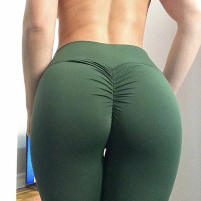Women Leggings Polyester High Waist Push Up Elastic Casual Workout Fitness Sexy Pants Bodybuilding Legging Clothing