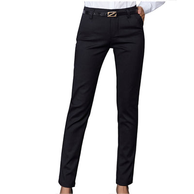 Women Pencil Pants Autumn High Waist Ladies Office Trousers Casual Female Slim Bodycon Pants Elastic Pantalones Mujer