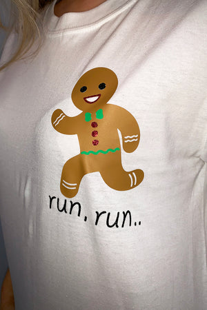 Gingerbread Man T-shirt image 2