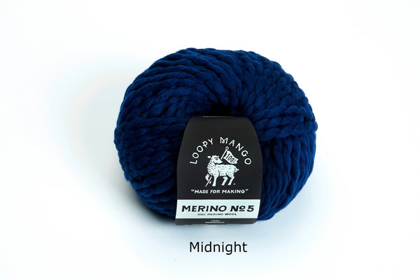 Merino No. 5 - Midnight
