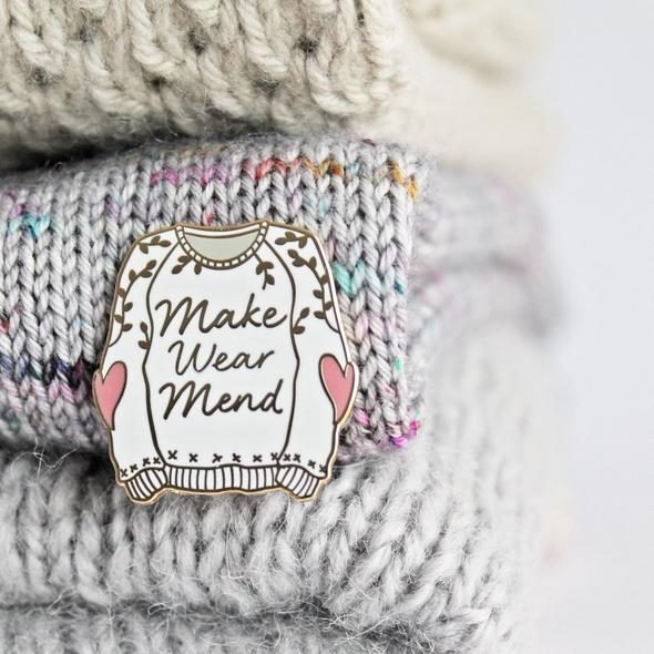 Make Wear Mend Pin