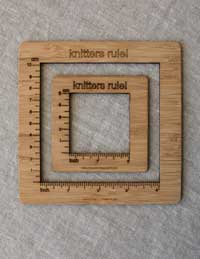 Knitting Gauge Ruler 2 inch