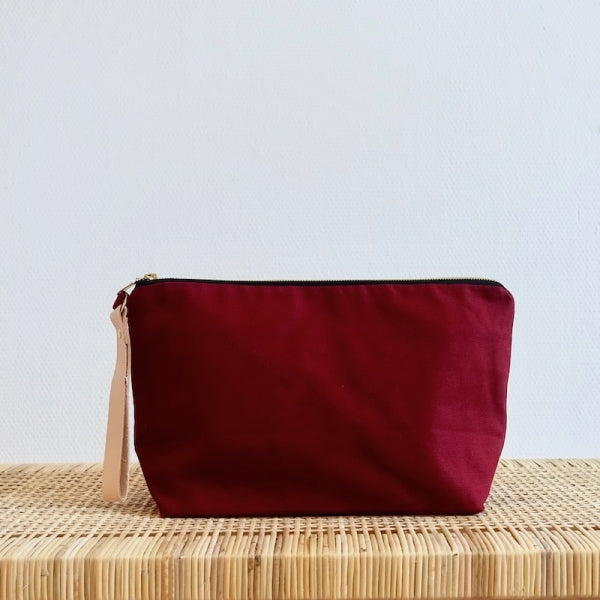Plystre Project Pouch Bordeaux