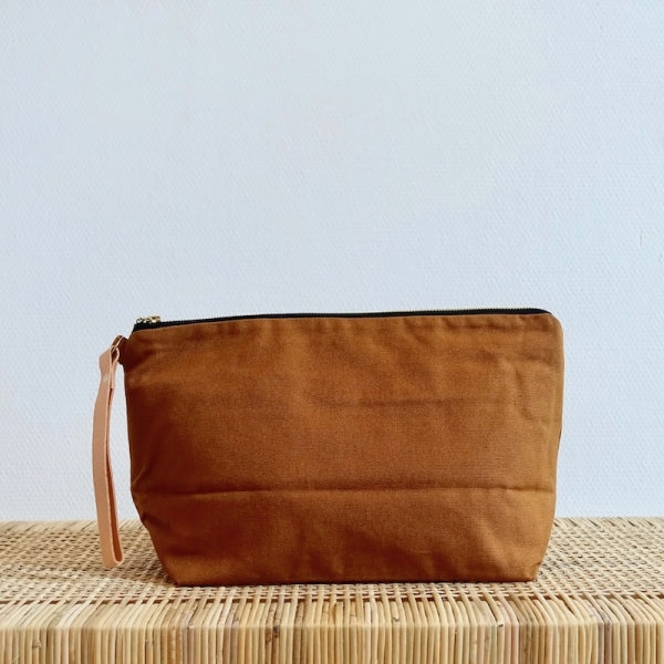 Plystre Project Pouch Honey Brown