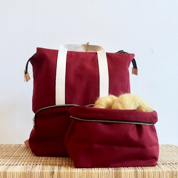 Plystre Backpack Bourdeaux