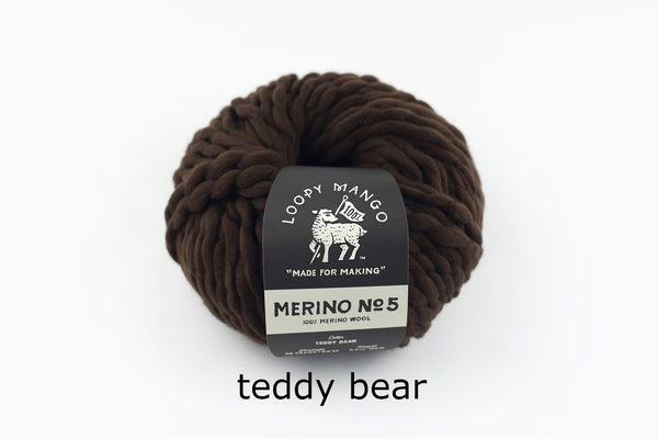 Merino No. 5 - Teddy Bear