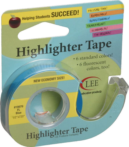 Highlighter Tape - Blue