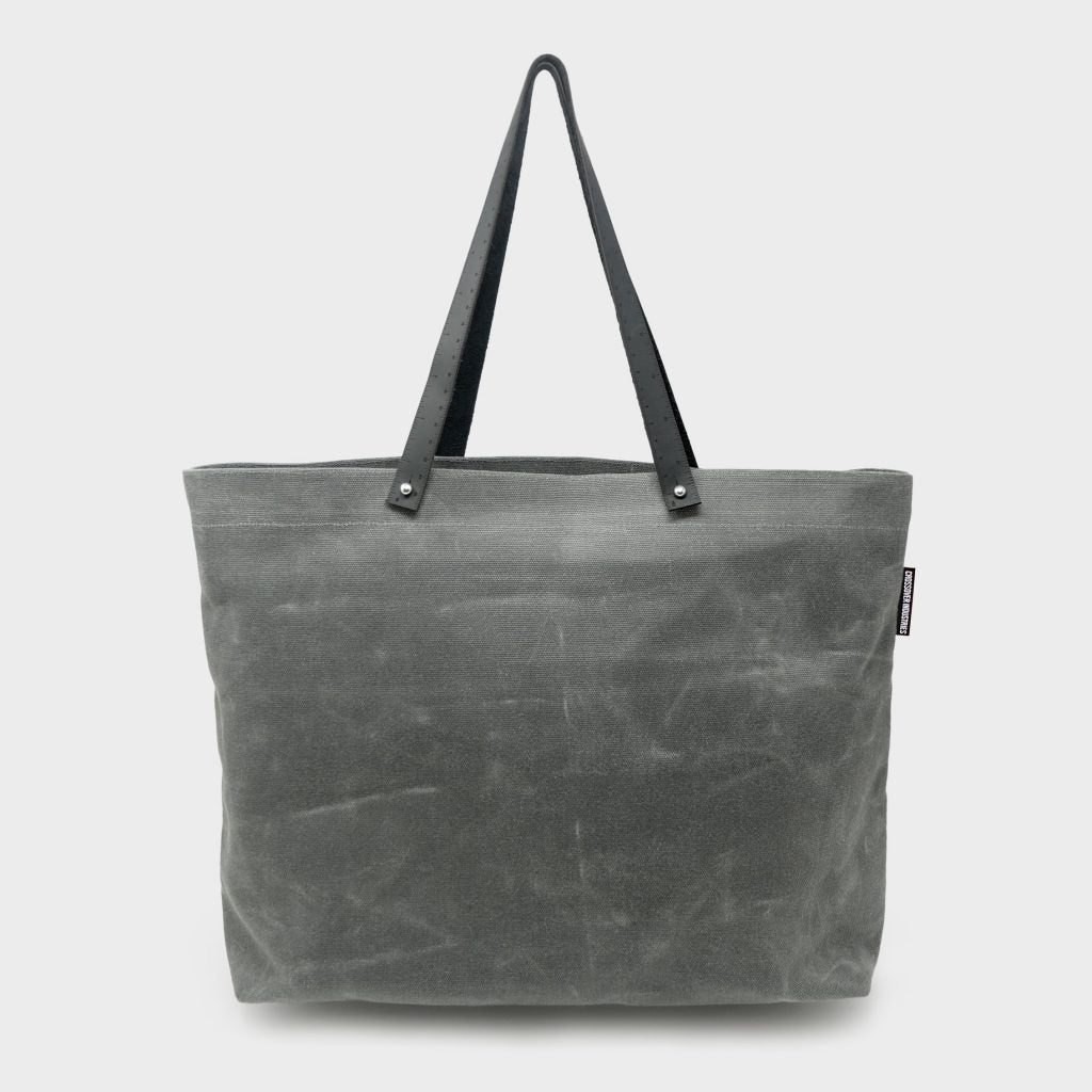 Ruler Tote - Distressed Grey