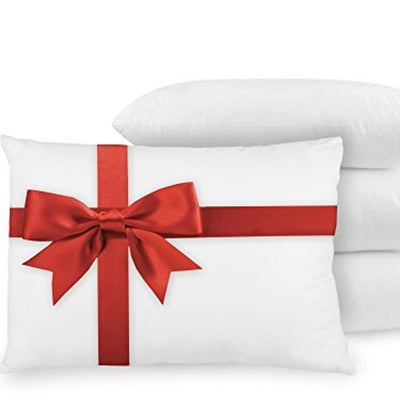 4-Pack Down Alternative Pillows with Built-In Ultra-Fresh Anti-Odor Technology Pillows Down Cotton