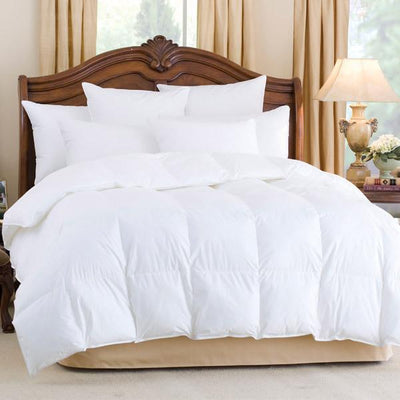 600 Fill Power Down Comforter Comforters Down Cotton Cal King