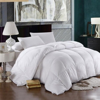 All Year Warm 700 Fill Power Down Comforter Comforters Down Cotton Cal King