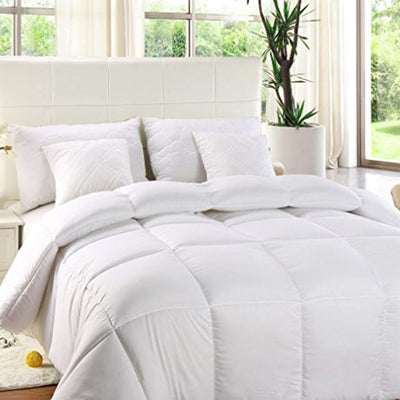 Down Alternative Comforter With Microfiber Shell Down Alternative Comforter Down Cotton