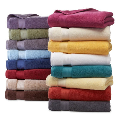 Rayon from Bamboo and Cotton Super Soft and Absorbent, Hotel & Spa Quality 6 Piece Towel Set Towel Sets Down Cotton