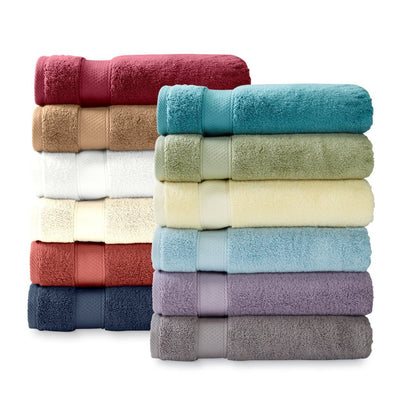 Turkish Cotton Luxury Hotel & Spa 6-Piece Towel Sets Towel Sets Down Cotton