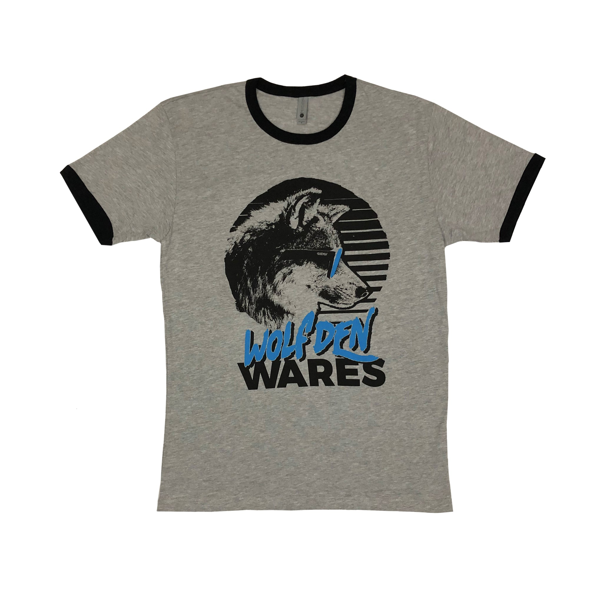 wolf-den-wares - Wolves Of Summer Ringer Tee - Wolf Den Wares - Shirts