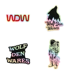 Holographic Die Cut Stickers