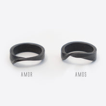 Amor Steel Ring ─ Bold