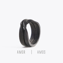 Amos Steel Ring ─ Light
