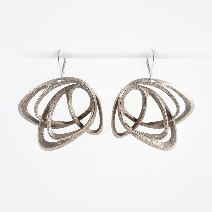 Gemino Steel Earrings