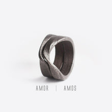 Amos Steel Ring ─ Bold