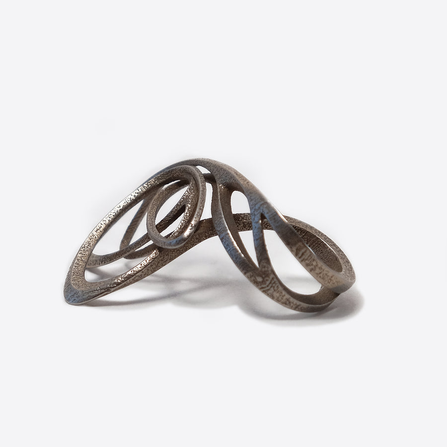 Papilio Steel Ring ─ Light